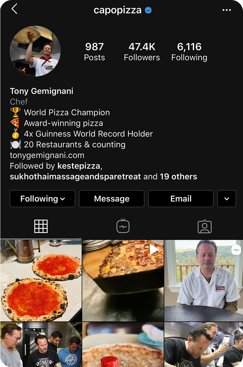 Capo Pizza screenshot